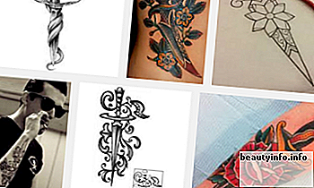 Top 9 Dolch Tattoo Designs und Bilder